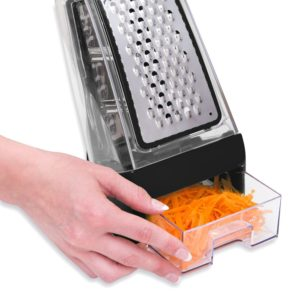 Cheese grater box shredder