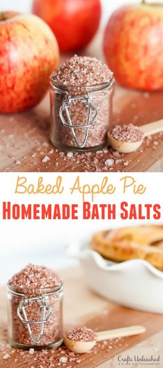 Baked apple pie bath salts