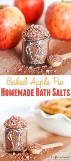 Baked apple pie bath salts