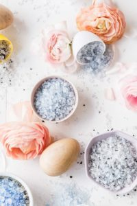 easter egg bath bombs salts