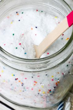 Birthday Cake Bath Salts Gift