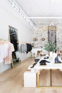 white gold closet