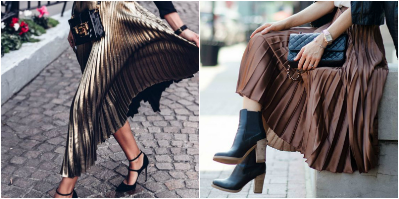 Top 10 metallic skirts to try out