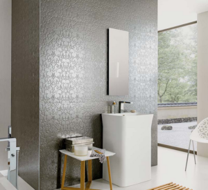 inlays metallic tiles