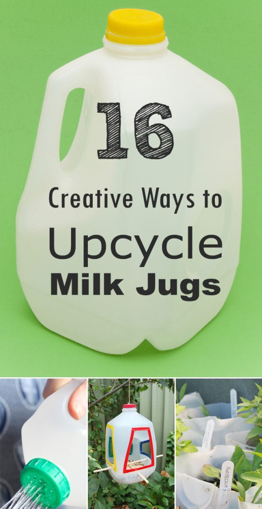 How to Upcycle Milk Jugs