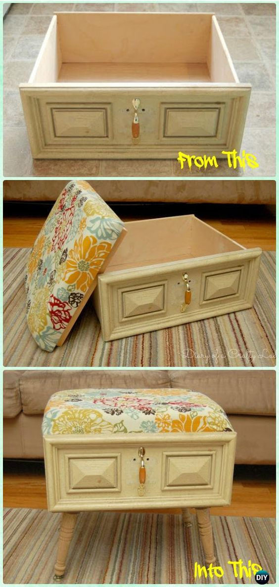 These 15 old drawer hacks will help you save used materials and money!