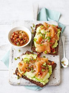 This smoked salmon avocado toast is sure to make your morning a delicious one!