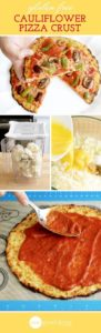 This gluten-free cauliflower pizza crust recipe will be a life saver if you have any allergies to gluten and want a healthy yet comforting treat!