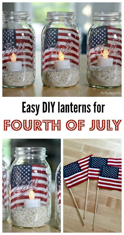 These easy DIY lanterns are totally AWESOME! They're cute and very, very easy to make!