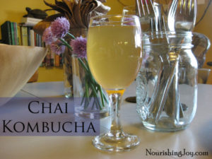 This chai kombucha tea looks so tasty! I love chai tea already so this will be a great addition to my drink rotation!