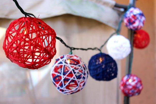 patriotic string lights