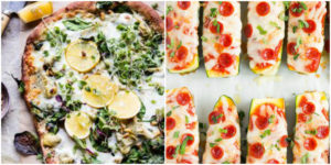 These healthy pizzas look so DELICIOUS! I can't wait to try them all!