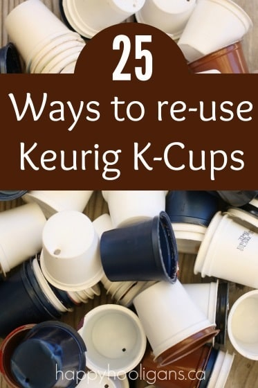 How to Re-use K-Cups