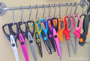 Scissors Organizing Hanger