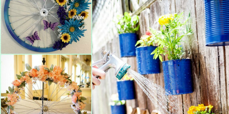 These 10 DIY Recycled Items Projects Are So AMAZING! I can't believe how CREATIVE these are! Can't wait to try them out!