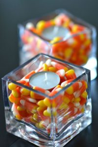 Candy Corn Candle