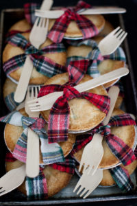 Mini Lumberjack Pies for Fall Parties