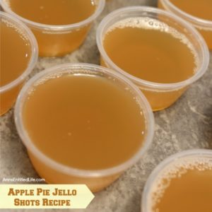 Apple Pie Party Jello Shots Recipe