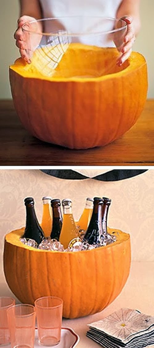 DIY Pumpkin Beer and Cider Cooler