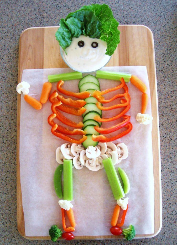 Halloween Veggie Ghost