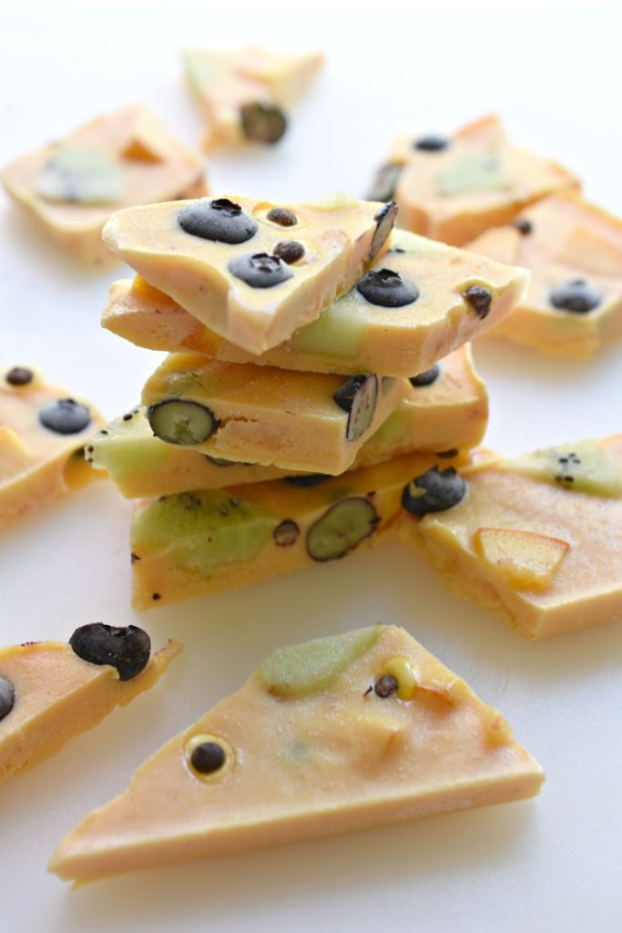 Halloween Yogurt Bark