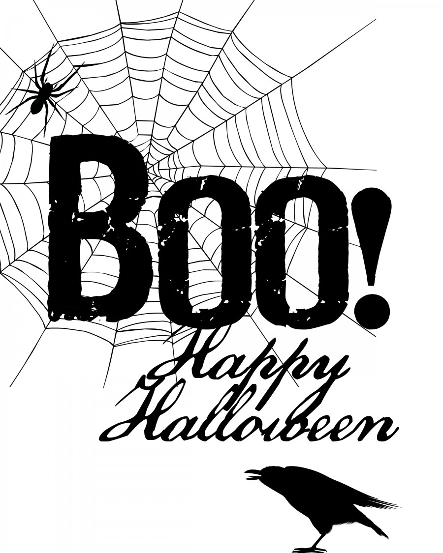 image about Boo Printable called boo-content-halloween-free of charge-printable-900x1125 - DIYbunker