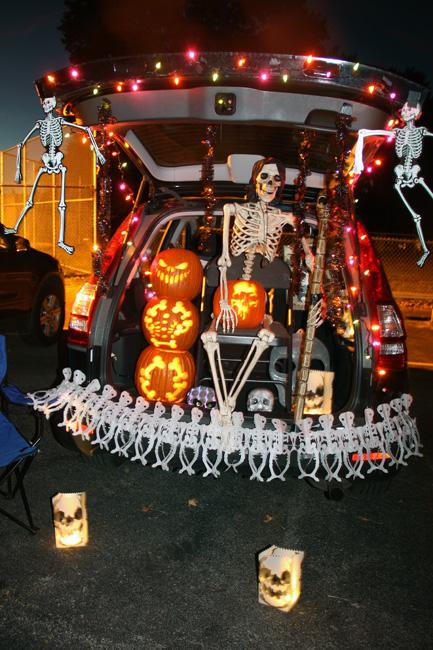 Skeleton Trunk or Treat