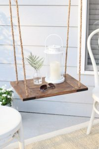 hanging porch shelf