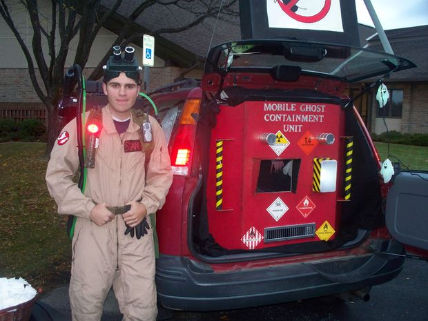 Ghost Busters Trunk or Treat Idea
