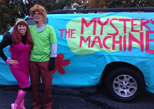 Scooby Doo Mystery Machine Trunk or Treat