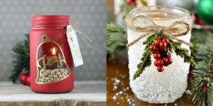 these 18 diy christmas mason jar gifts and decorating ideas are so delightful i want