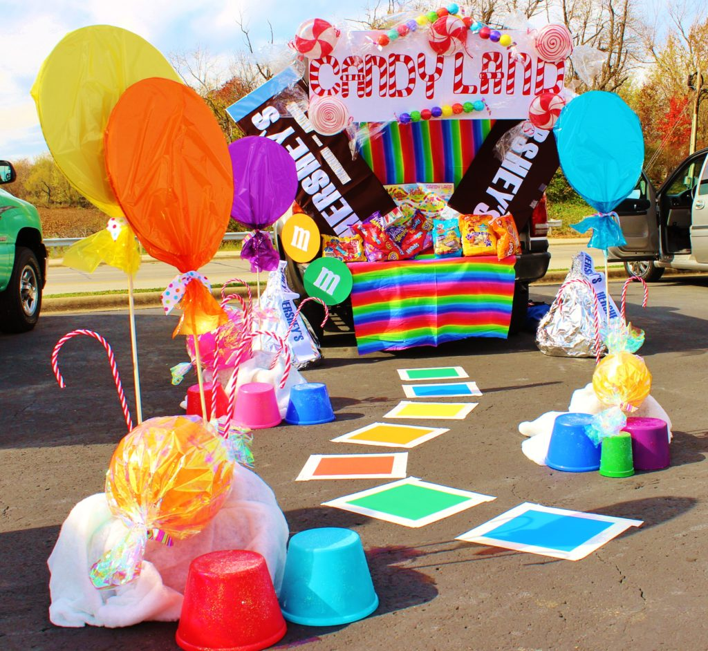 Candy Land Trunk or Treat Idea