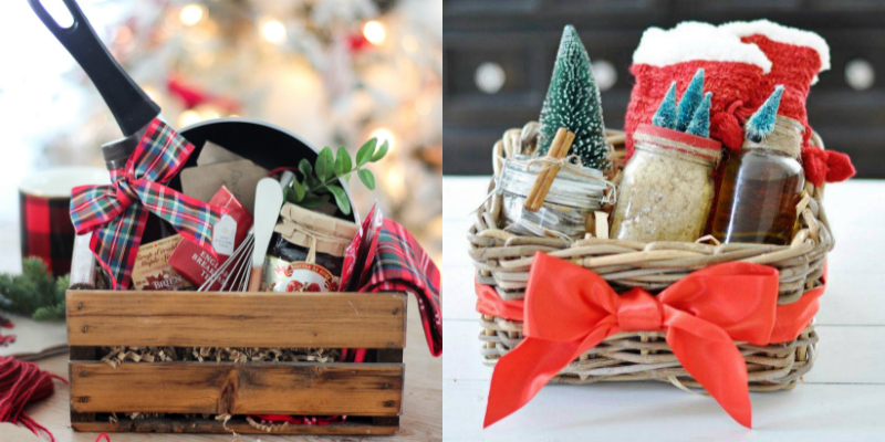 These 19 Gift Basket Ideas Are PERFECTION! They're great for any of the holidays and special occasions, especially Christmas and birthdays!