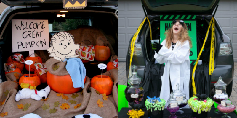 These 15 Trick Or Treat Trunk Ideas Are The BEST! These themes are so cute and creative!