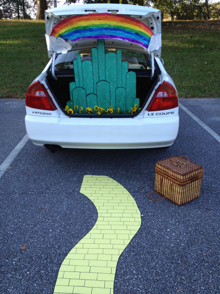 Emerald City Trunk or Treat Wizard of Oz Theme