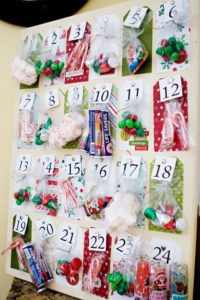 candy calendar