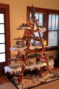 These 12 Alternative Christmas Tree DIY Ideas Are So CREATIVE!