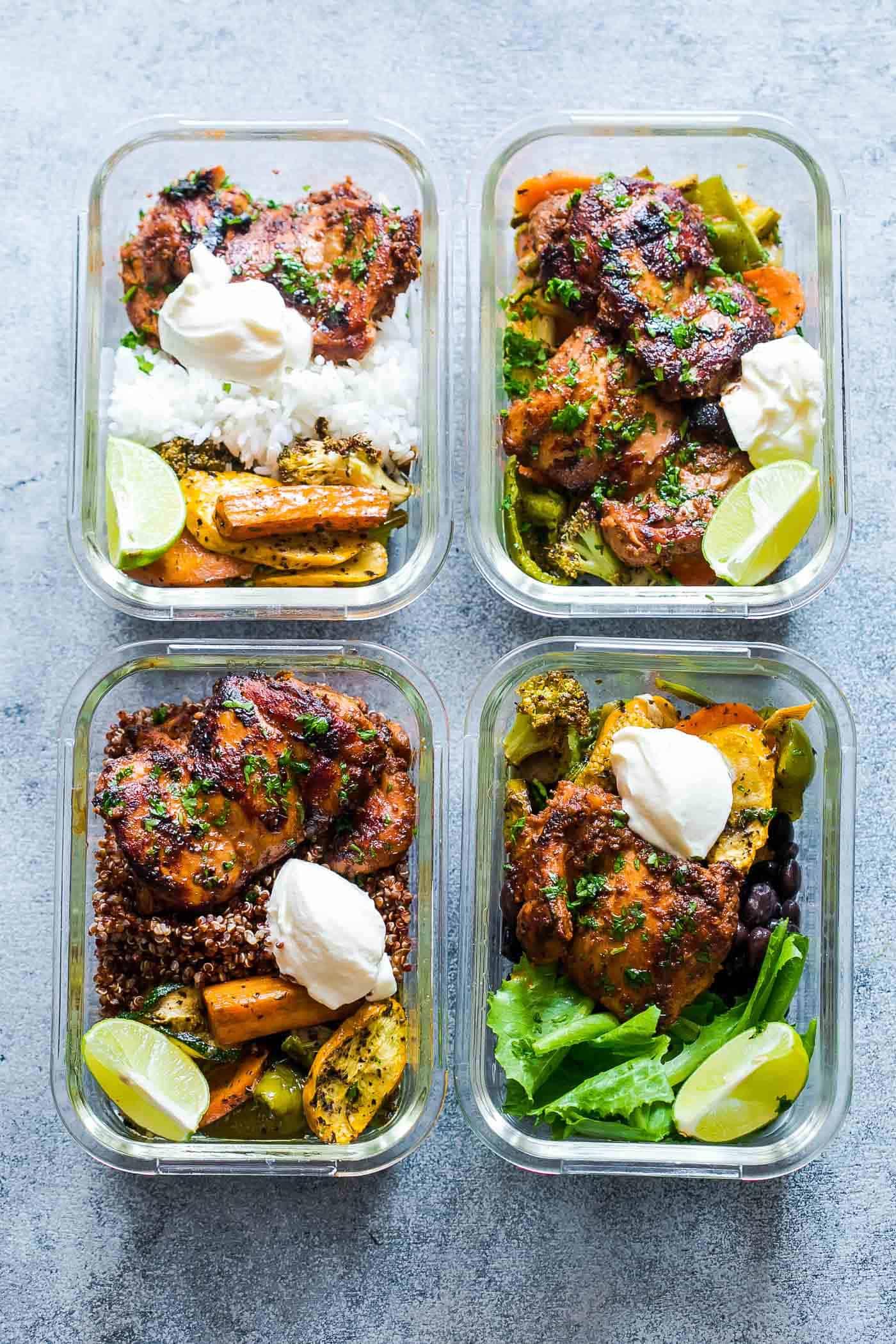 Chipotle Chicken Meal Prep Recipe