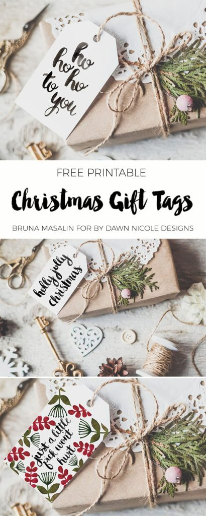 These 100+ Free Printables For Christmas Are The CUTEST! I love how there's something for everyone from wine bottle tags to wall art.