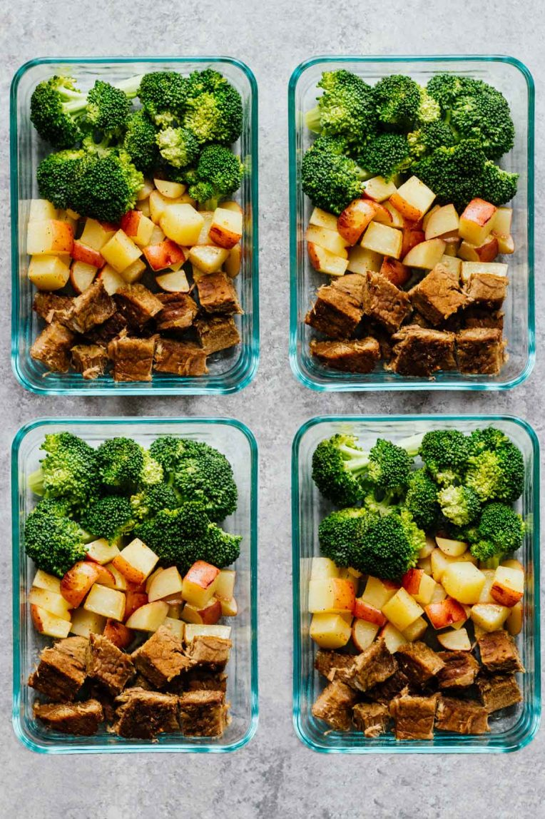Steak and Potatoes Meal Prep Bowls