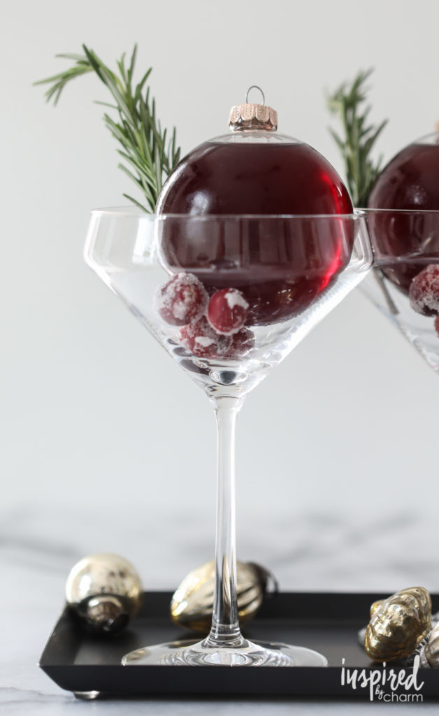 cranberry winter cocktail