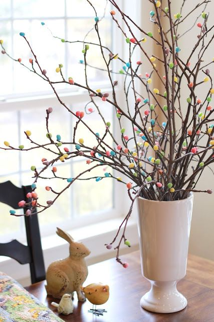 Easter Egg Tree Decor DIY