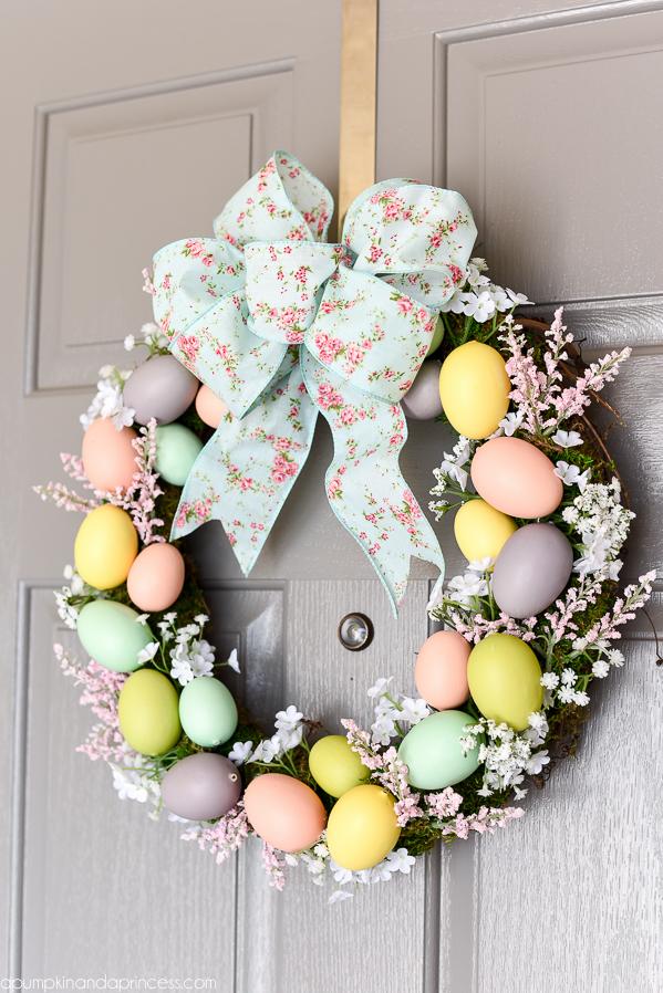Easter Egg Wreath DIY Craft