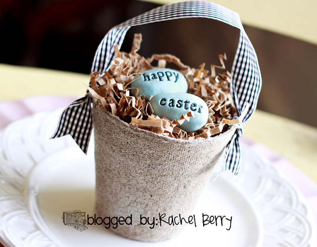 Easter egg nest craft