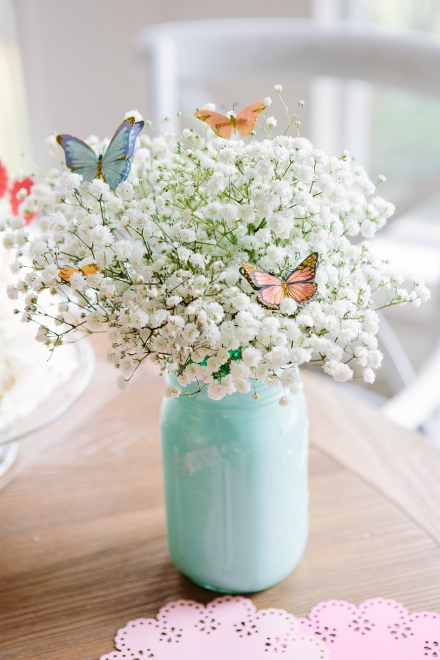 Butterfly Flower Arrangement DIY Craft For Easter