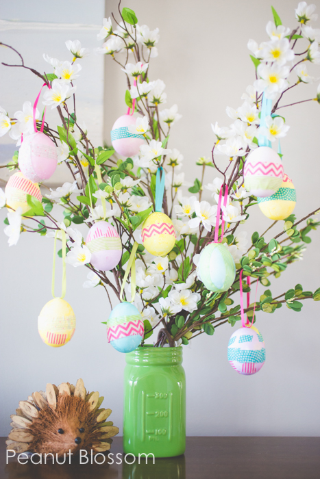 Festive Easter Egg Tree Craft