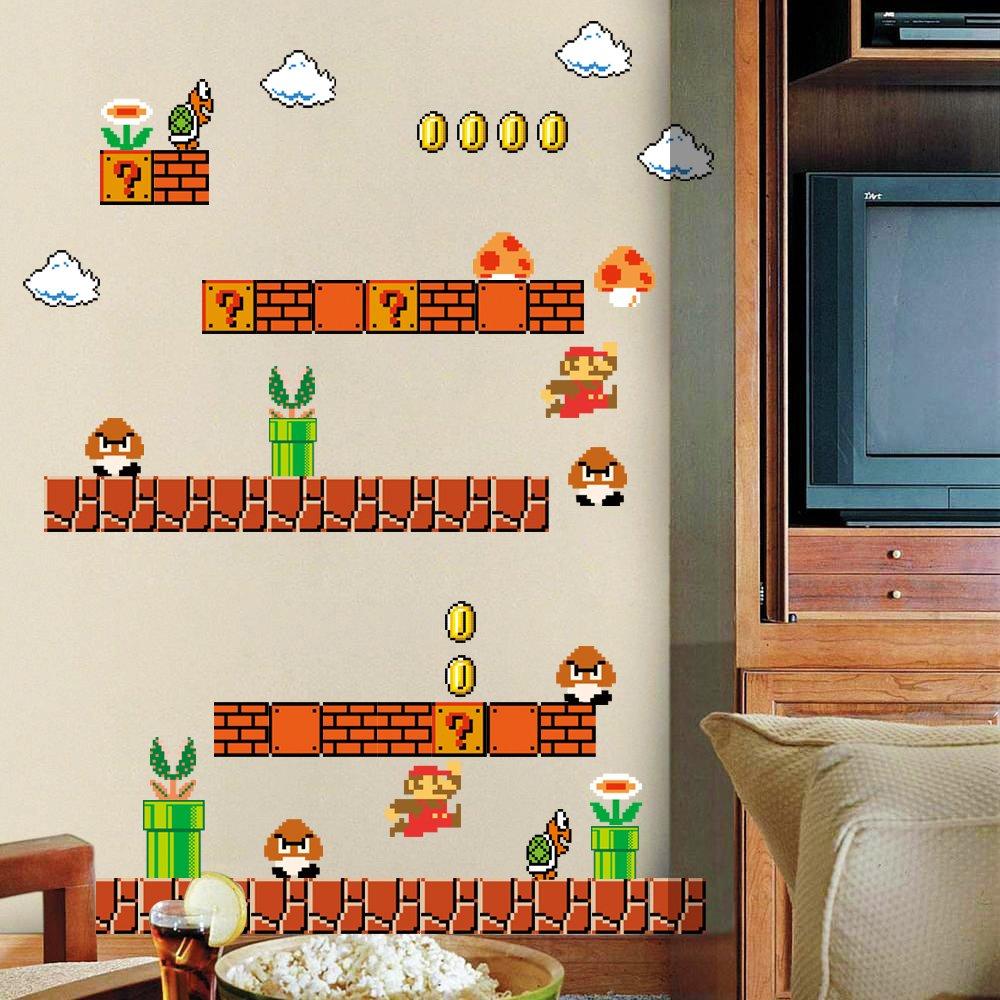 Mario Themed Gaming Room