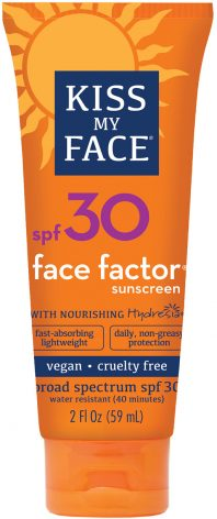 Kiss my Face Sunscreen SPF30