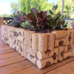 This wine cork planter is awesome!