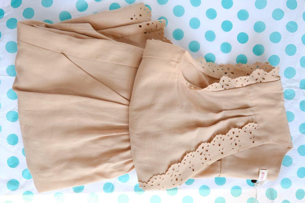Rebecca Taylor Camel Dress